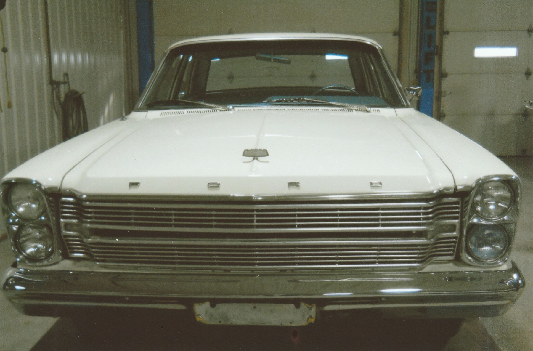 1966 Ford Galaxie 500 vertically stacked dual headlights