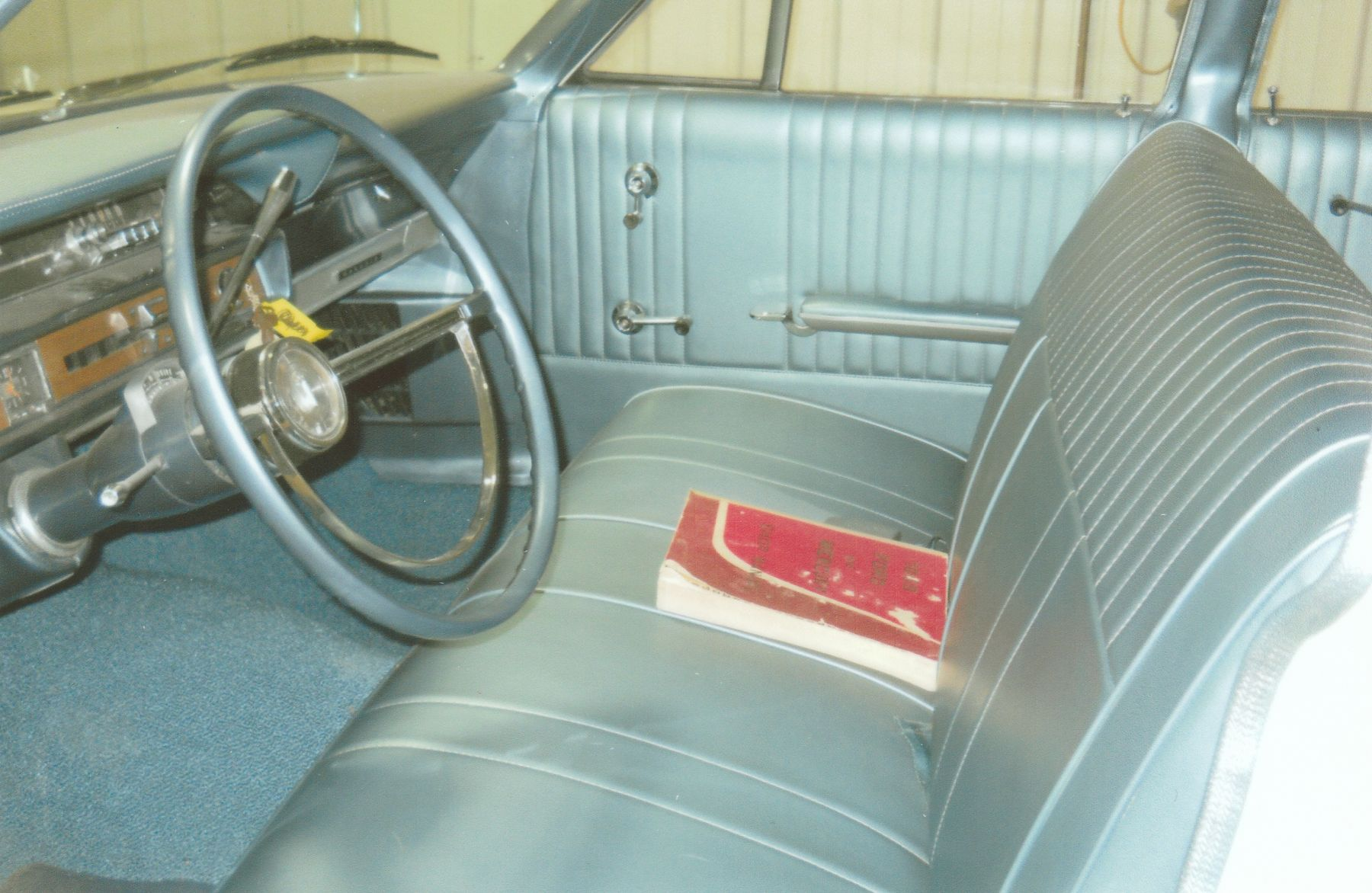 1966 Ford Galaxie 500 front seat and interior dash