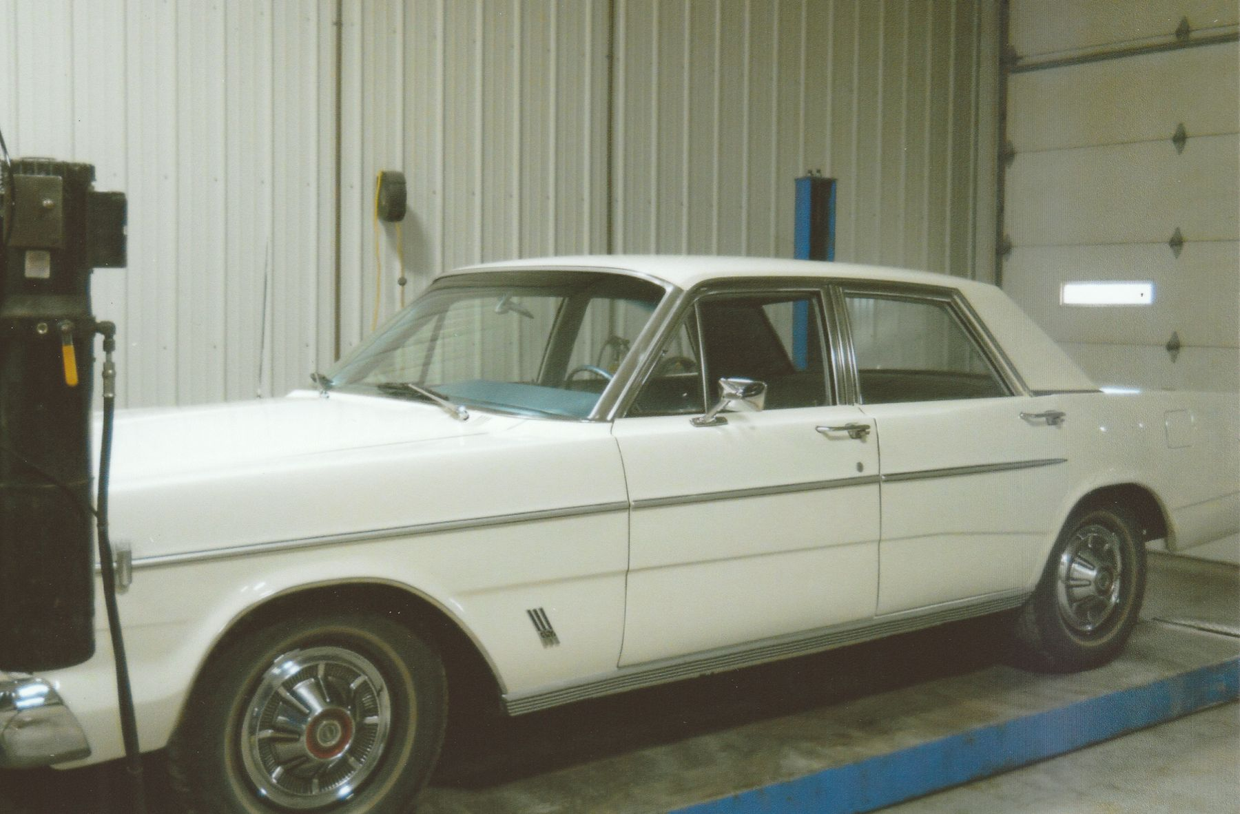1966 Ford Galaxie 500 full length in garage