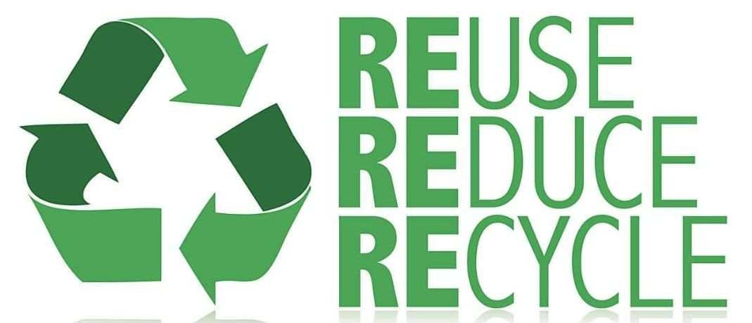 Reduce, Reuse, Recycle arrow logo